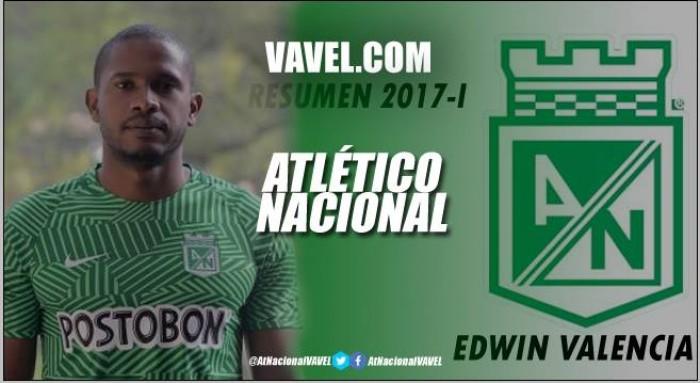 Resumen 2017-I Atlético Nacional: Edwin Valencia, el más perjudicado con las lesiones