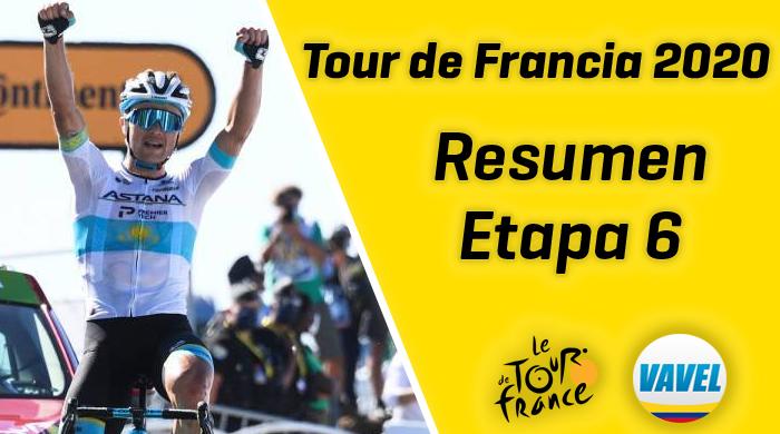 Tour de Francia 2020, etapa 6: Alexey Lustenko se impuso en la fuga