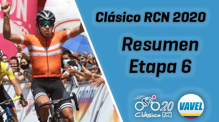 Javier Jamaica ganó la sexta etapa y José Hernández continúa líder del Clásico RCN
