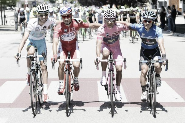 Resumen del Giro de Italia 2014