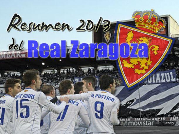 Real Zaragoza 2013: otro descenso nefasto en la era Agapito