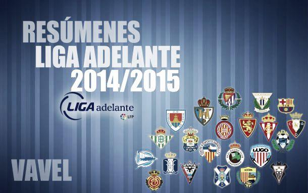 Resúmenes Liga Adelante de la temporada 2014/2015