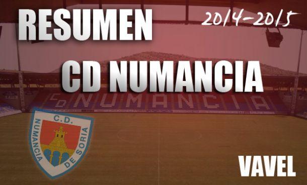 CD Numancia 2014/2015: en tierra de nadie