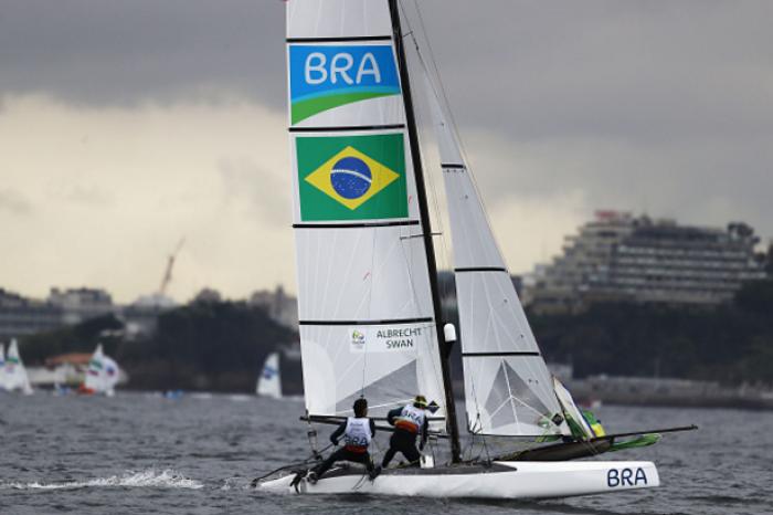 Vela: Brasileira Patrícia Freitas vence uma das regatas na categoria RS:X