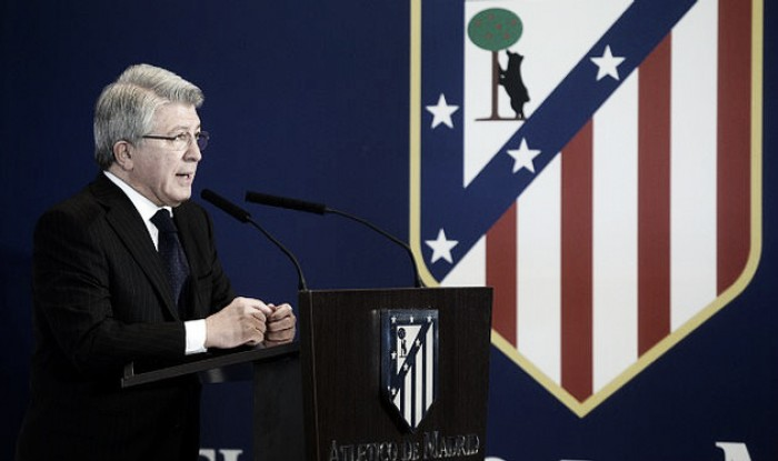 Presidente do Atlético de Madrid exalta elenco e demonstra confiança para temporada