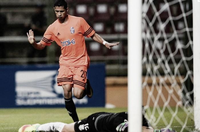 Em jogo eletrizante,Deportivo La Guaira vence Emelec pela Copa Sul-Americana