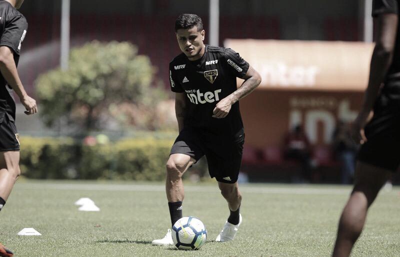 Recuperado de lesão, Everton pode reforçar o São Paulo para o clássico contra o Corinthians