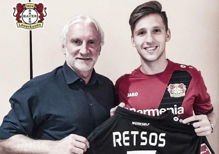 Leverkusen, doppia operazione: arriva Retsos, Kampl va al Lipsia