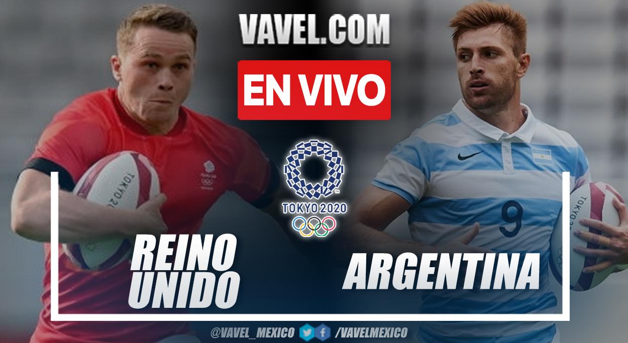 Resumen Argentina 17-12 Gran Bretaña en Tokio 2020
