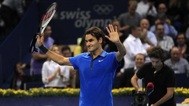 Federer disputará su novena final en Basilea