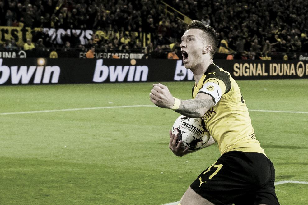 Reus dá show e comanda virada do Borussia Dortmund sobre Bayern de Munique