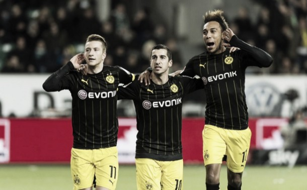 VfL Wolfsburg 1-2 Borussia Dortmund: Kagawa scores winner following hectic finish