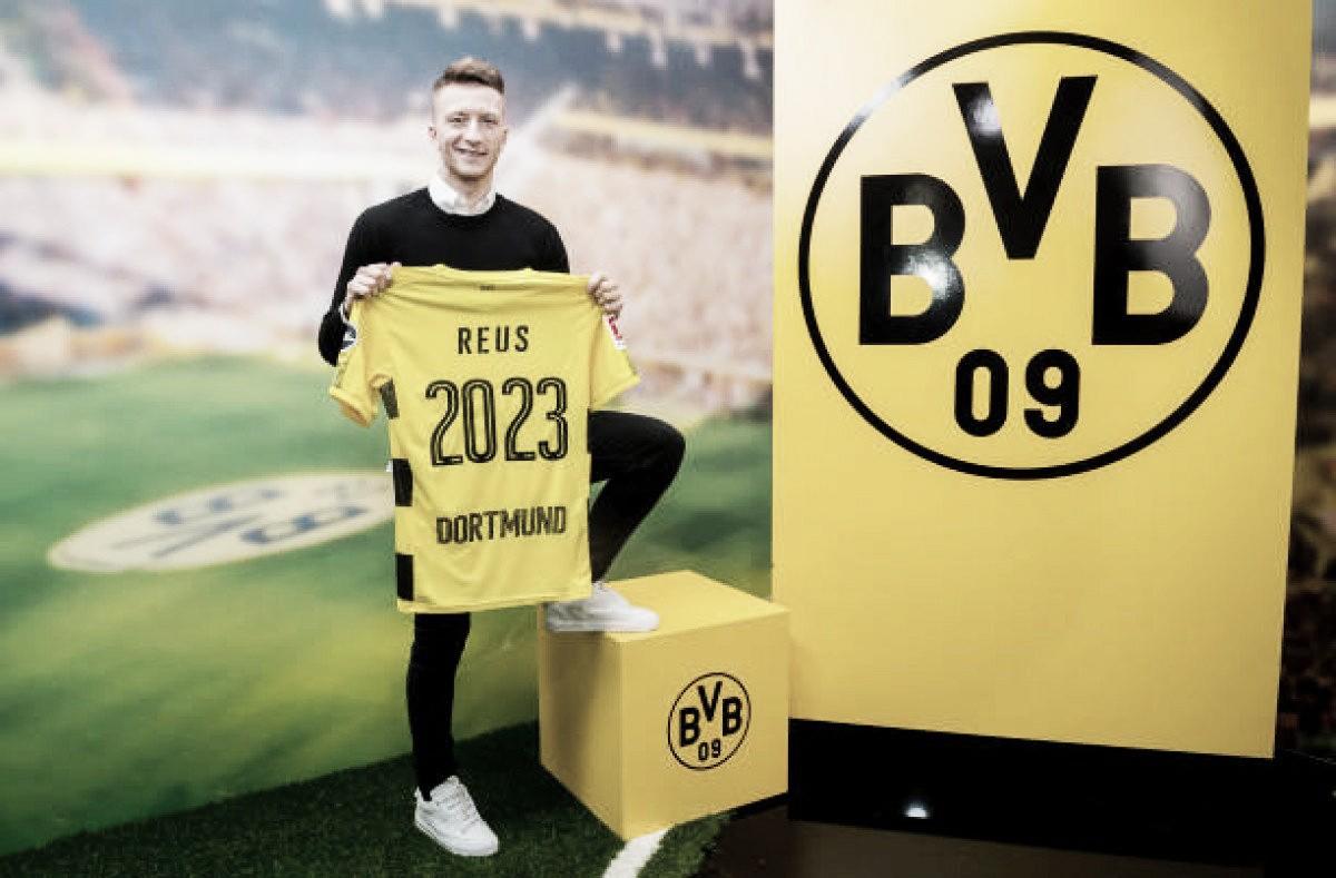 Reus renova com Borussia Dortmund até 2023
