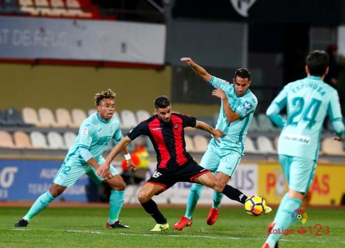 Reus - Granada CF: puntuaciones del Granada, jornada 19 de La Liga 1|2|3