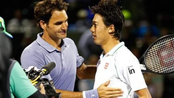 ATP World Tour Finals Round Robin Preview: Roger Federer - Kei Nishikori