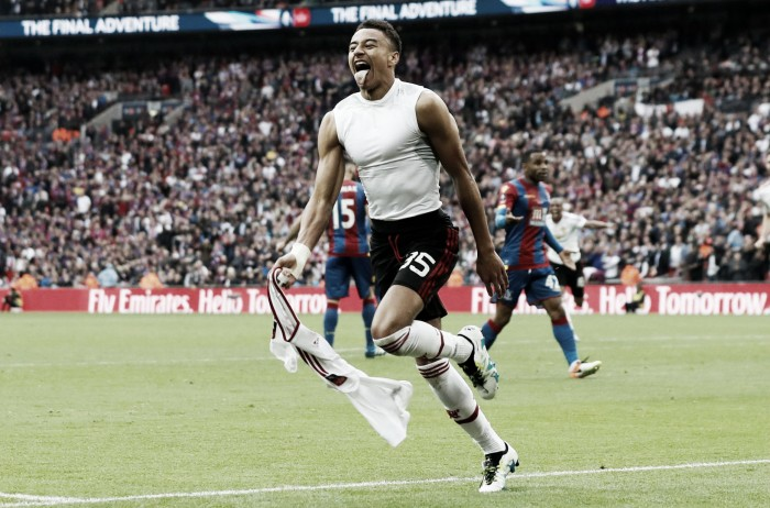 Lingard hails 'United way' as Red Devils lift FA Cup