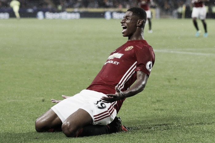 """We deserved it"" says Rashford after last-gasp match-winning strike at Hull City"