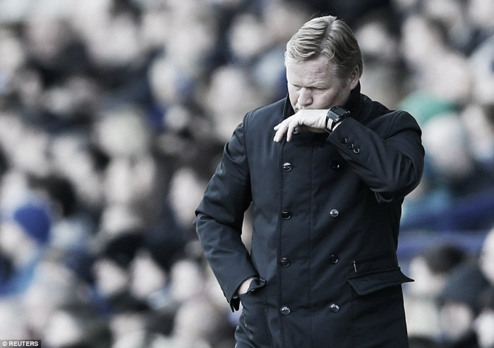 Koeman frustrated after Goodison Park draw