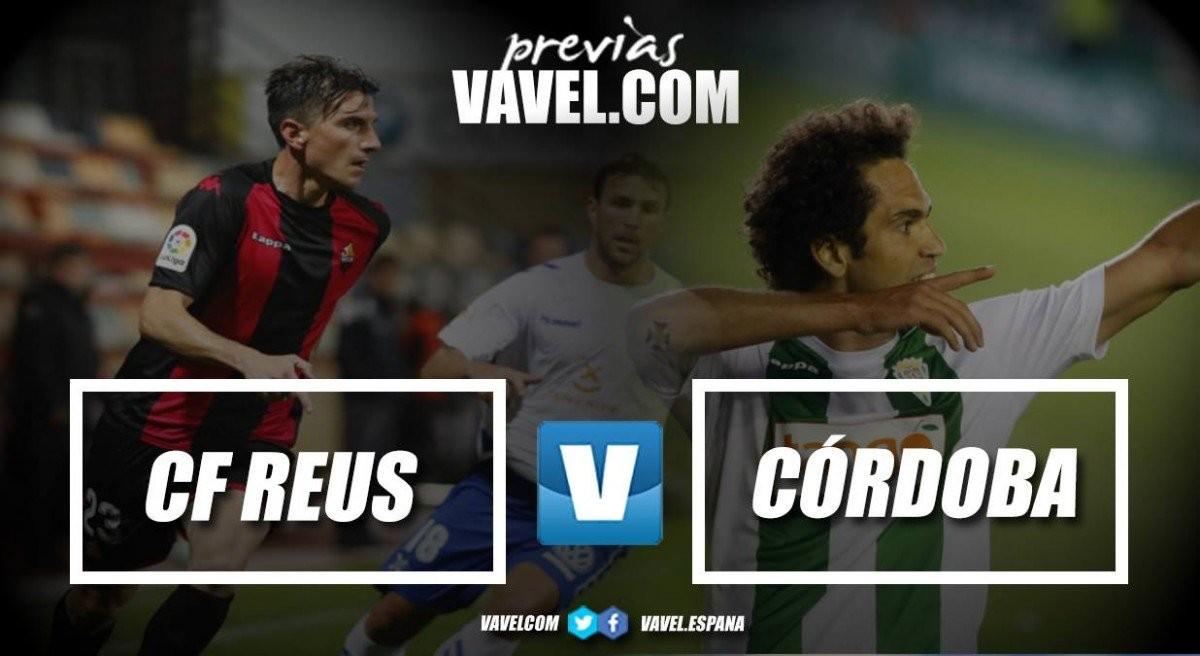 Previa Reus Deportiu - Córdoba CF: Victoria obligada