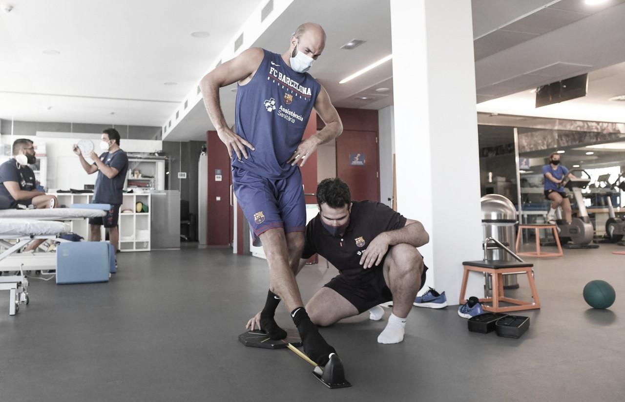 Comienzan las revisiones médicas en el FC Barcelona