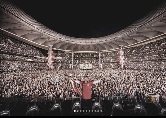 Ed Sheeran emociona y electriza al Wanda Metropolitano