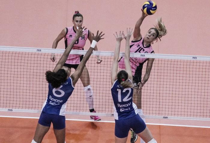 Em jogo disputado, Rexona-Sesc perde para Pomi Casalmaggiore e se complica no Mundial