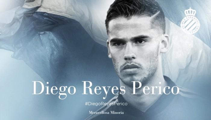 Espanyol oficializa acerto por empréstimo do zagueiro Diego Reyes junto ao Porto