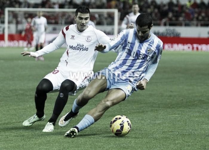 Los datos del Sevilla FC - Málaga CF