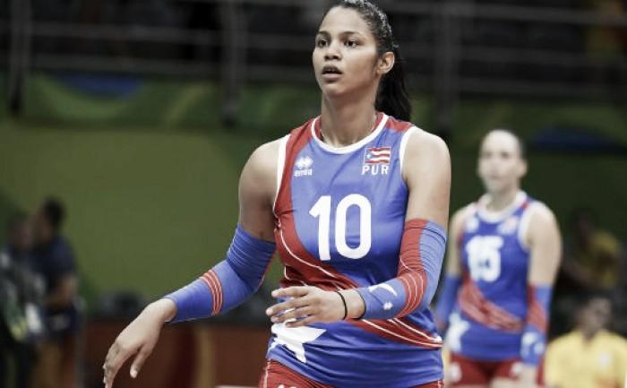 Atleta porto-riquenha de vôlei esconde gravidez para disputar a Rio 2016