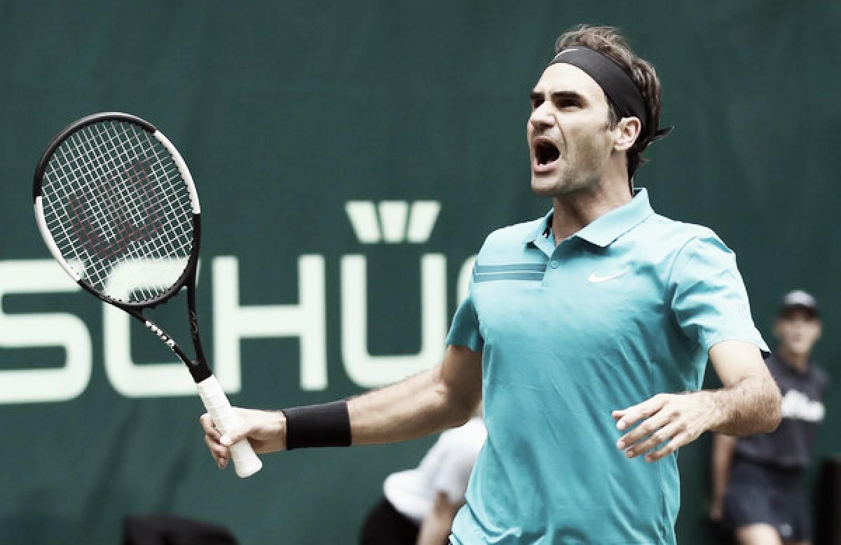Federer sufre pero sigue soñando