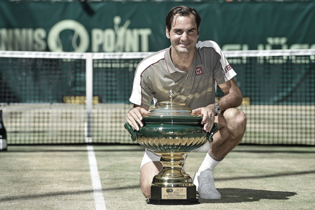Roger Federer y Halle, una historia de amor