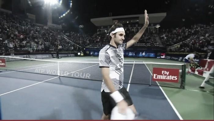 Atp Dubai, Federer si sbarazza di Paire e avanza al secondo turno