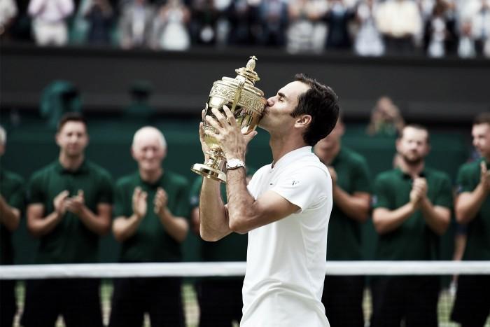 """Wimbledon, Roger Federer dopo l'ottavo sigillo: """"Ancora un altro anno di tennis"""""""