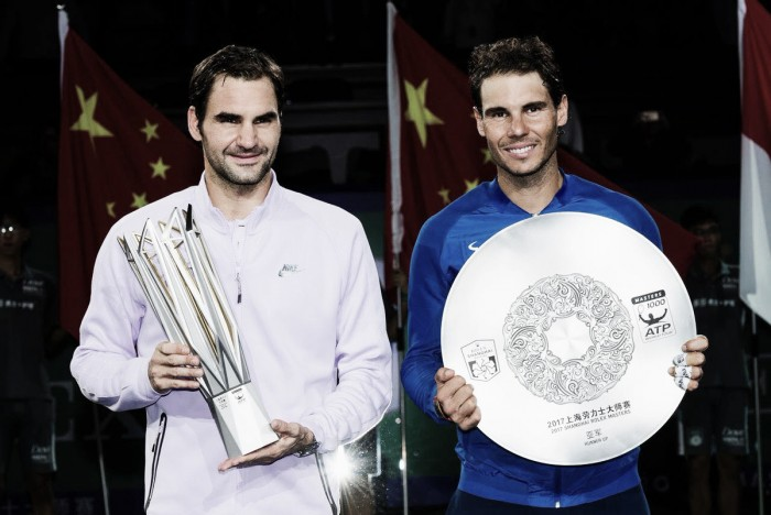 Atp Shanghai - Federer perfetto in finale, Nadal si arrende in due set