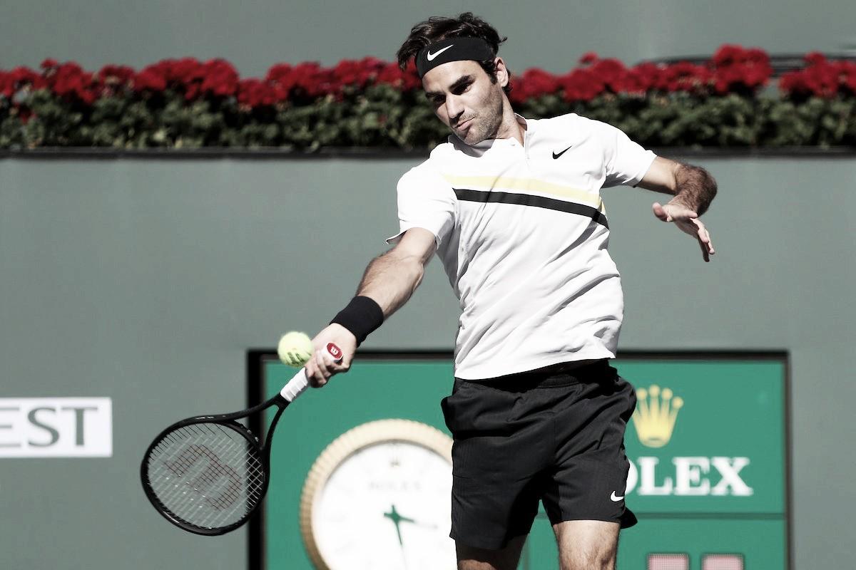 Atp Indian Wells, Federer archivia la pratica Delbonis. Djokovic e Zverev subito fuori