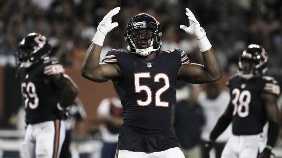 Los Bears y su gran defensiva