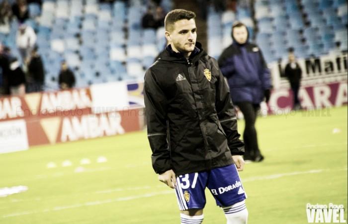 Xiscu debutó con el primer equipo ante el Mirandés