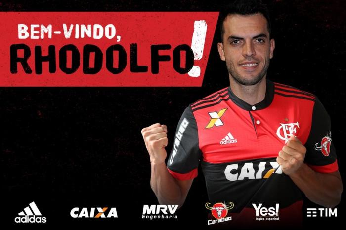 Flamengo anuncia contrataçãodo zagueiro Rhodolfo