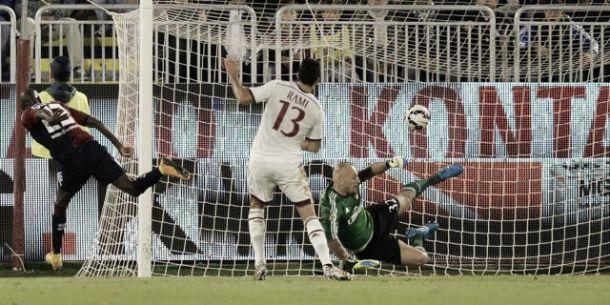 Cagliari - Milan 1-1, a Ibarbo risponde Bonaventura