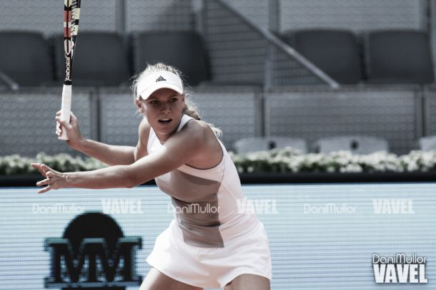 Wozniacki empieza con buen pie
