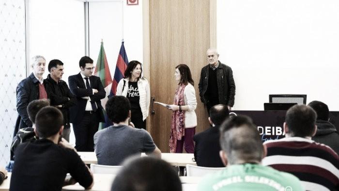 El acto de apretura de los cursos 2016/2017 organizados por la SD Eibar Fundazioa