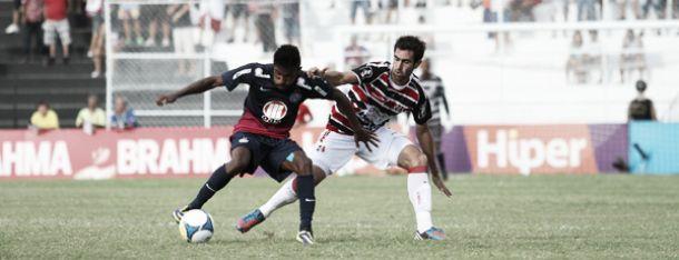Bahia perde para o Santa Cruz por 2 a 1 e depende de tropeço do CSA para se classificar