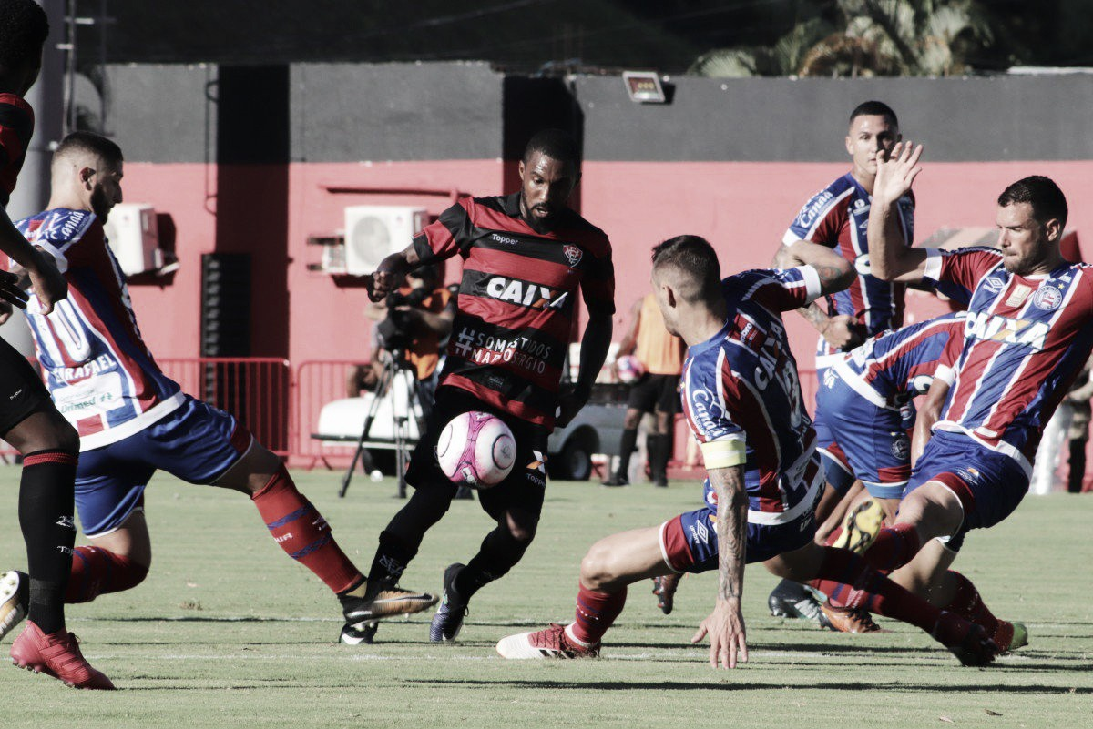 Vitória notifica jogadores envolvidos em tumultuado Ba-Vi e acusa Bahia de iniciar confusão