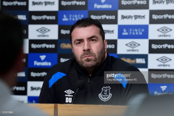 David Unsworth says Everton's trip to Crystal Palace is 'crucial'
