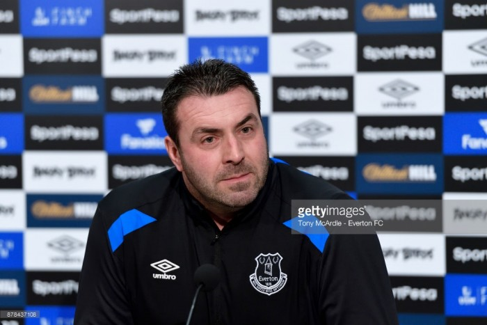 Everton owe the fans a result against Southampton, says David Unsworth