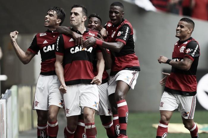Notas: Éverton Ribeiro e Rhodolfo se destacam em vitória do Flamengo na Taça Guanabara
