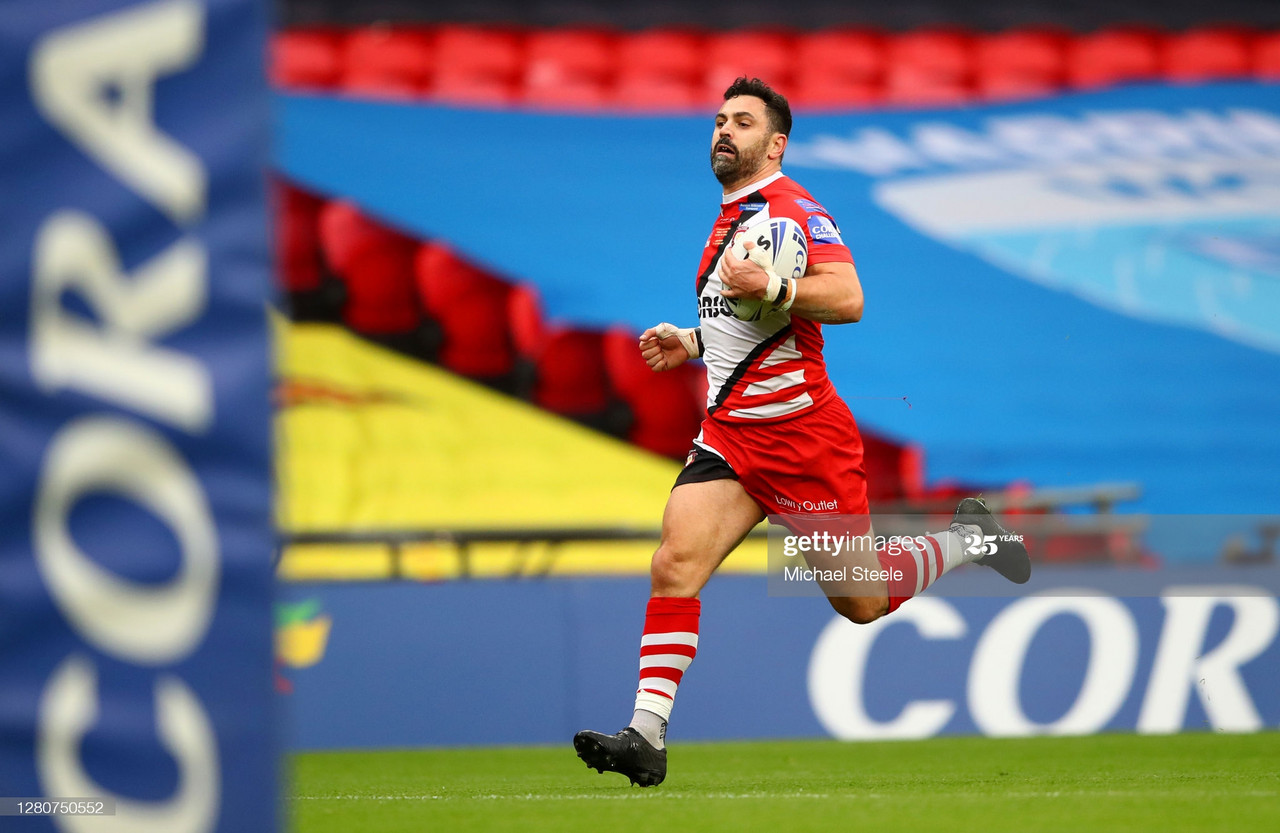 """That's the way it should be"" - Salford's Rhys Williams on back-to-back finals"
