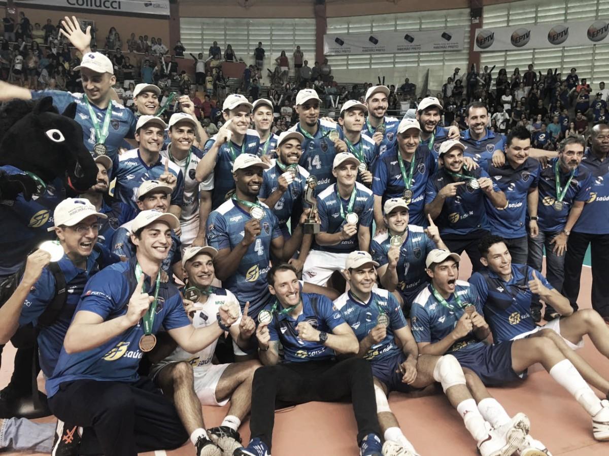 Com a força da torcida, Ribeirão Preto bate Itapetininga e fatura Superliga B