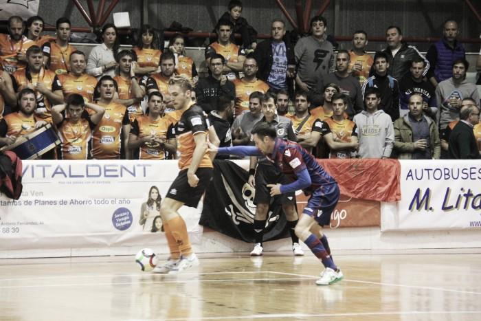 Primeros tres puntos para el Levante UD FS