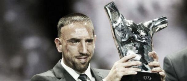 Ribéry élu meilleur joueur d'Europe